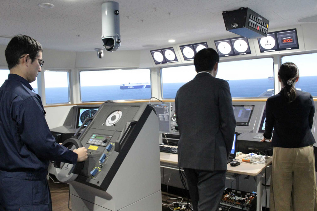 Accumulating data during a simulation  led by an experienced captain