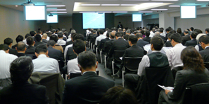 Monohakobi Techno Forum 2011 講演会場の様子